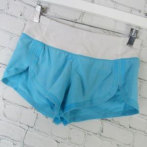 Lululemon Shorts Womens Size 2 Light Blue White